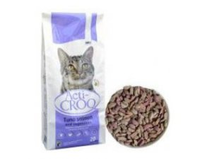 ACTI-CROQ  Cat tuna & salmon  20kg 31/11