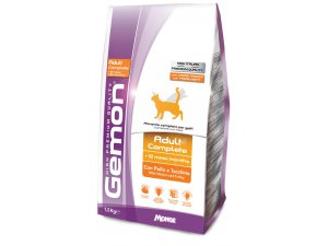GEMON Cat Adult  Kuře/krůta 400g