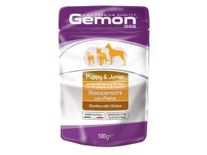 GEMON Dog HP Puppy kapsička kuřecí 100g/24bal