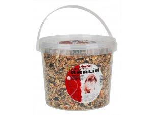 Apetit Zakrslý králík - základní krmná směs 1,7kg DÓZA