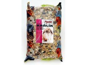 Apetit Zakrslý králík - základní krmná směs  800g (6ks/bal.)