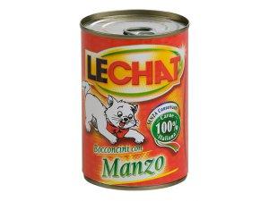 Lechat Cat kousky hovězí 720g/12 bal.