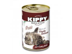KIPPY Cat telecí 400g/24kart.