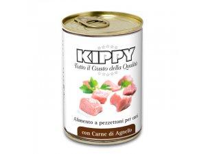 KIPPY Dog kousky v omáčce - jehně 400g/24kart.