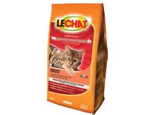 LECHAT Cat  Hovězí a zelenina 1,5kg